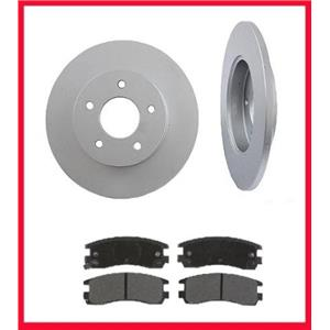 Fits For 2000-2005 Buick LaSabre Rear Brake Disc Rotors With Ceramic Pads