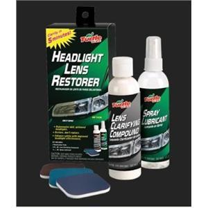 TURLE WAX Headlight Lens Restorer Kit