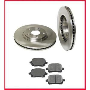 Fits 99-01 Lexus RX300 Front Brake Disc Rotors & Ceramic Pads 3pc Kit