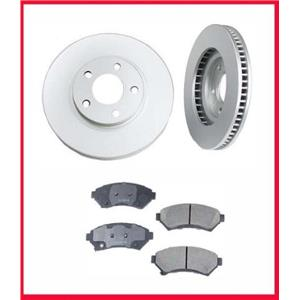 for 97-04 Park Ave Ultra Front 11 7/8 Inch Disc Brake Rotor & Ceramic Pads