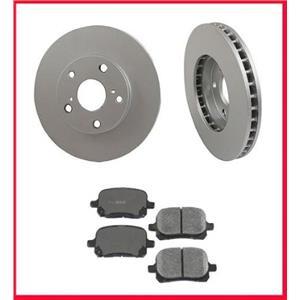 1998-2004 Avalon (2) Premium Front Brake Rotors & Ceramic Pads 31050 CD707
