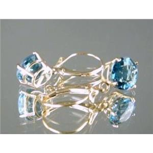 E117, London Blue Topaz Earrings
