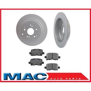 MDX Honda Pilot (2) Rr Brake Rotors & Ceramic Pads