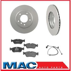 2003-2005 Mercedes C240 4 Matic  Frt Brake Rotors & Pads & Brake Pad Sensor