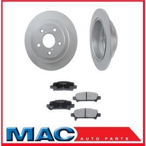 10 15/32 Inch Rear Brake Rotors & Pads fits for 1990-1998 Subaru Legacy