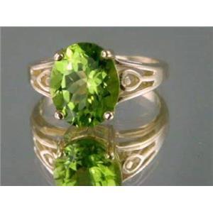 R139, Peridot Gold Ring
