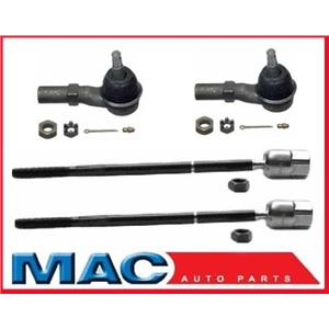 1996-1999 Ford SHO Only  2 Inner 2 Outer Tie Rod Ends