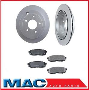 For Front Wheel Drive 04-05 Mazda MPV Van Rear Brake Rotors & Pads NEW!!! 3pc