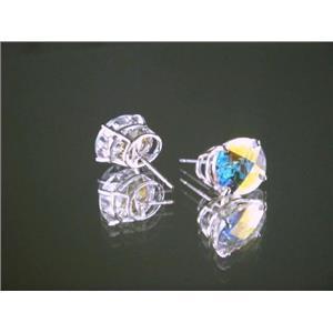 Mercury Mist Topaz, 925 Sterling Silver Earrings, SE102