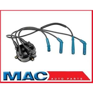 1987-1990 Toyota Tercel (3E) Ignition Wires Set + Cap