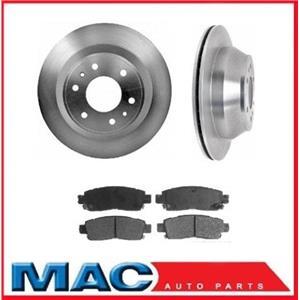 GM SUV (2) 55073 Disc Brake Rear Rotor Plus CD883 Ceramic Rear Pads