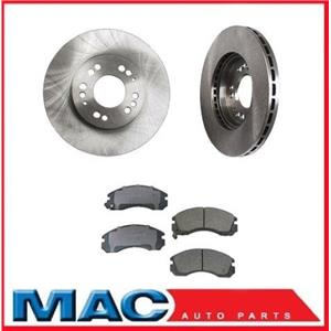 1992-2004 MITSUBISHI Diamante Front Brake Rotors & Ceramic Pads 31003 CD530