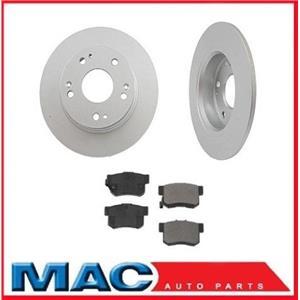 Accord Hybrid (2) Rear Brake Rotors & Ceramic Pads 44594  CD365