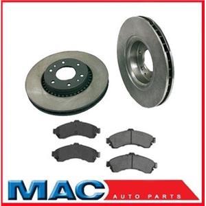 For 03-05  ISUZU V8 5.3L Ascender  Front Brake Rotors Pads 129 Inch Extended W/B