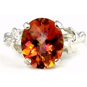 Twilight Fire Topaz, 925 Sterling Silver Ring, SR154