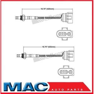 96-98 Audi A4 Quattro (2) O2 Oxygen Sensor Direct Fit