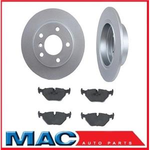 BMW 95 96 97 98 99 318Ti (2) Rear Brake Rotors & Pads