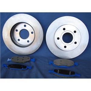 1991-1994, 1999 Diamante 3000GT Rr   Brake Rotors & Pads
