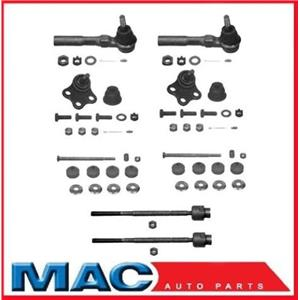 1999-2005 Grand Am Lower Ball Joints Inner & Outer Tie Rods Stabilizer Links