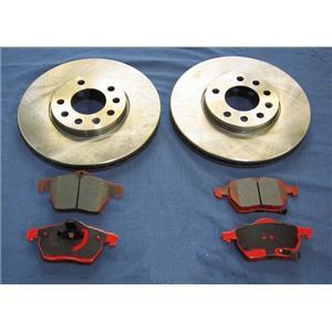 1996-2000 Sebring Conv  Front  Brake Rotors & Pads