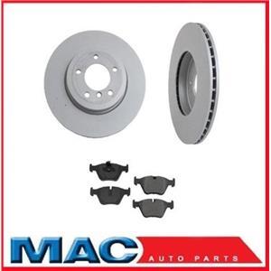 330CI 330I 330XI (2) Front Brake Disc Rotors & Ceramic Brake Pads 34211 CD946