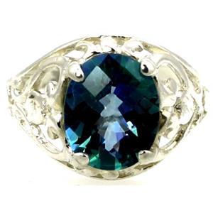 Neptune Garden Topaz, 925 Sterling Silver Ring, SR004
