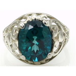 Paraiba Topaz, 925 Sterling Silver Ring, SR004
