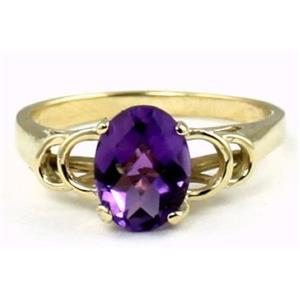 R300, Amethyst, Gold Ring