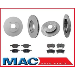 02-04 For Focus SVT  Front & Rear Rotors & Pads 54113 54106