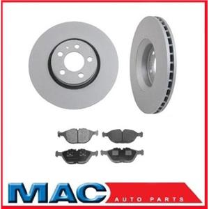 Front Brake Rotors & Brake Pads For 2002-2004 Mercedes-Benz SLK32
