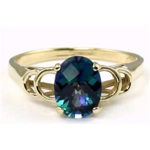 R300, Neptune Garden Topaz, Gold Ring