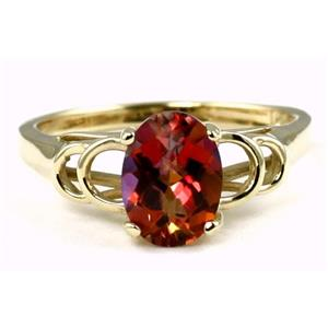 R300, Twilight Fire Topaz Gold Ring