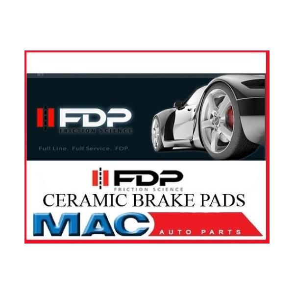 Crossfire E300 E320 E430 SLK320 FDP Brakes CERAMIC CSS853 Front Disc Brake Pad