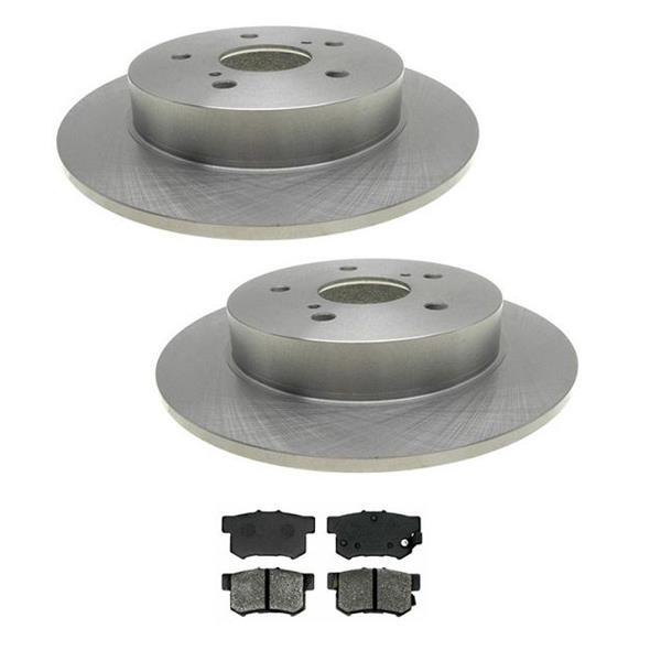 2007-2012 Suzuki SX4 SX 4 Rear Brake Rotors &  Ceramic Pads 31498 CD365