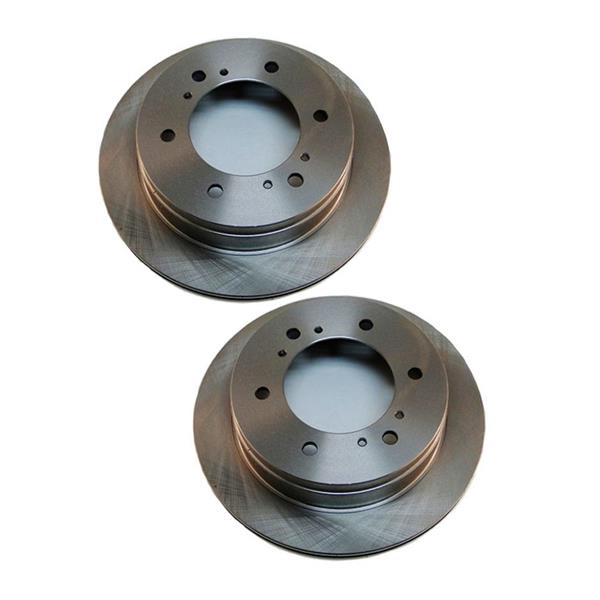 Rear Left and Right Disc Brake Rotors for a PATHFINDER 1988-1995