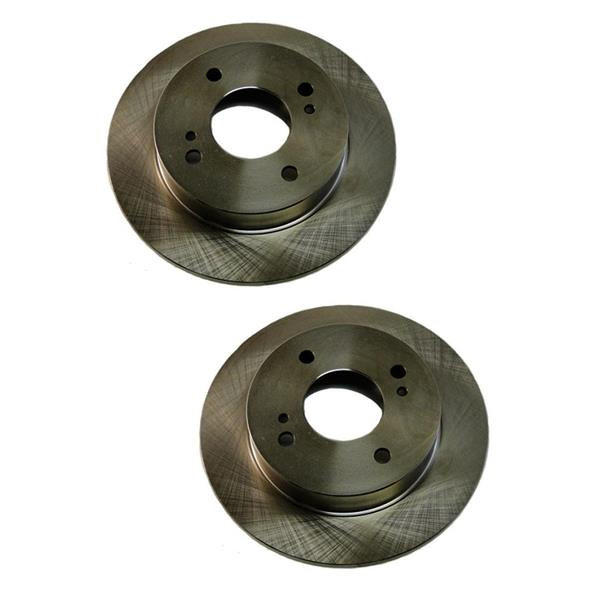 Rear Left and Right Rear Brake Disc Rotor for 240SX 1989-1998