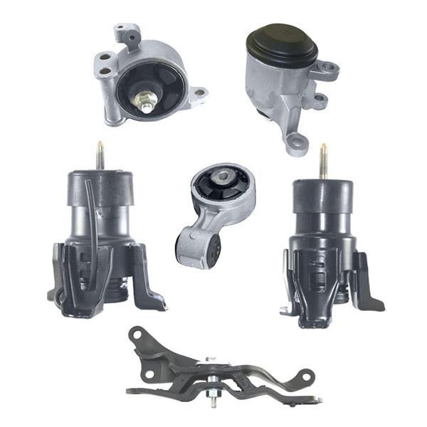 engine motor mount 6pc kit fits altima 07-12 3.5l cvt a/t & maxima