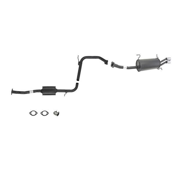 1990-1994 Mazda 323 Protege DOHC  Muffler Exhaust System 61328 62803