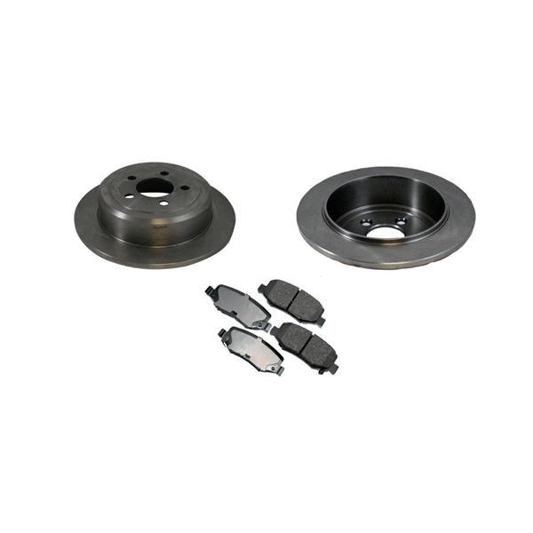 Nitro Liberty 53044 Disc Brake Rotor CD1274 Ceramic Rear Pads Brake Rotor, Rear