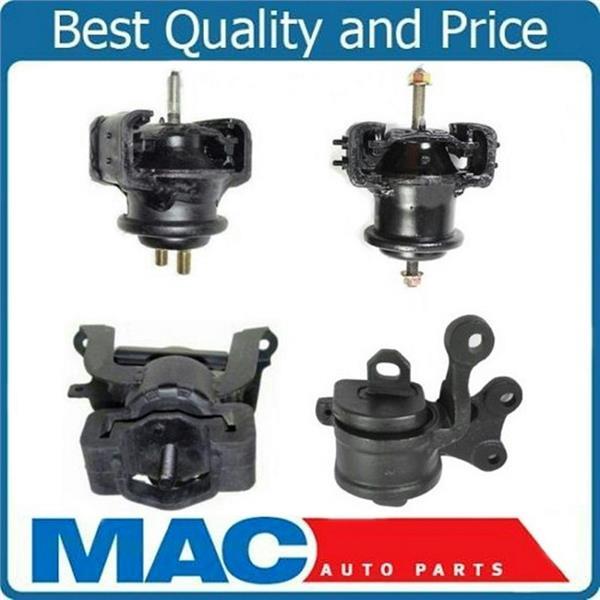 01-02 Mazda Millenia 2.5L 4 Piece Engine Motor Transmission Mount Kit