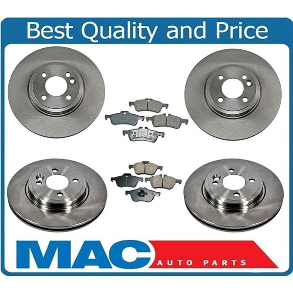 02-06/06 Mini Cooper Front & Rear Brake Disc Rotors 276MM Call Check Info