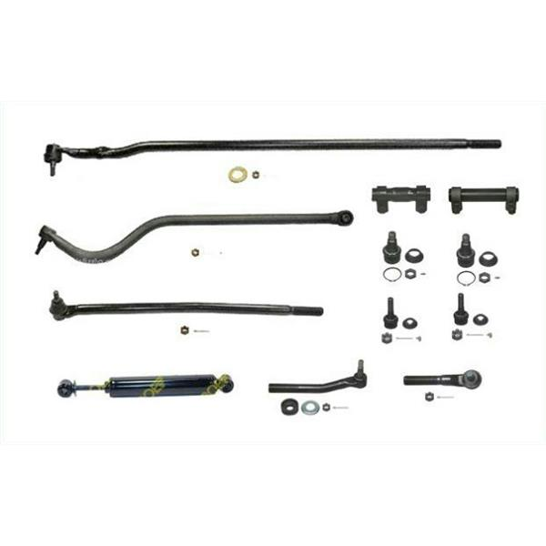 98-99 Ram HD 2500 3500  Drag Link Tie Rod RodsTrack Br DS1459 DS1456 DS1413 12Pc