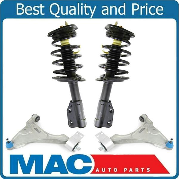 F Complete Coil Spring Struts Fits 06-08 Lucerne CXL CX Without Magnetic Ride 4p