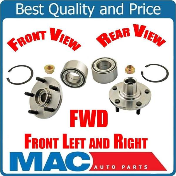 Axle Bearing Hub & Bearing Frt 699509 for 99-03 RX300 Front Wheel Drive Only (2)