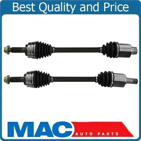 (2) 100% New Front CV Axle Shaft Assembly L & R Frt for 2010-2013 Acura ZDX MDX