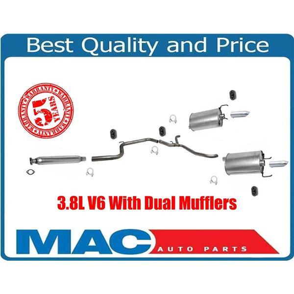 00-02 Monte Carlo SS 3.8 Dual Muffler Exhaust Pipe System AP & Davico Brand