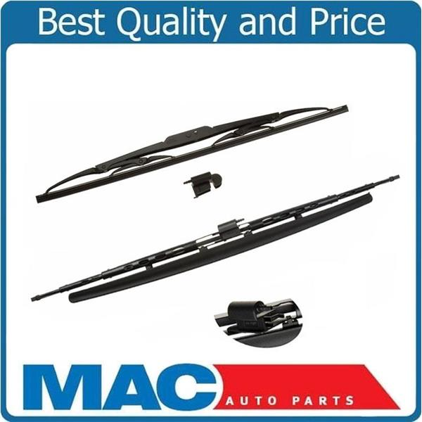 Fits For 03-09 Vanden plas XJ8 XJR (2) Front Direct Fit Wiper Blades OE Style