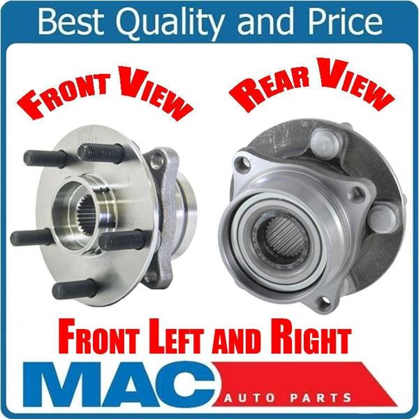 (2) Front Left & Right Wheel Bearing Hub Assembly Fits 2004-2009 Toyota Prius