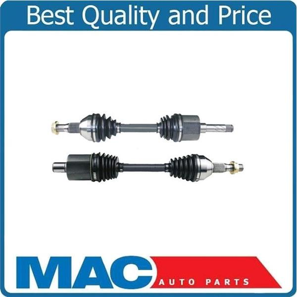 (2) 100% New Front CV Drive Axle Shafts for 01-05 Aztex AWD All Wheel Drive Only