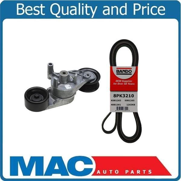 For 03-07 Ford F250 F350 6.0 Turbo Belt Tensioner & Eng Belt With (1)Alternator